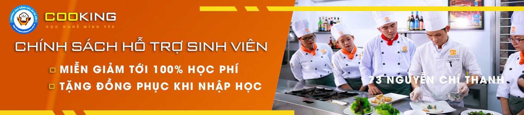 cao đẳng nấu ăn hà nội tuyển sinh 2020