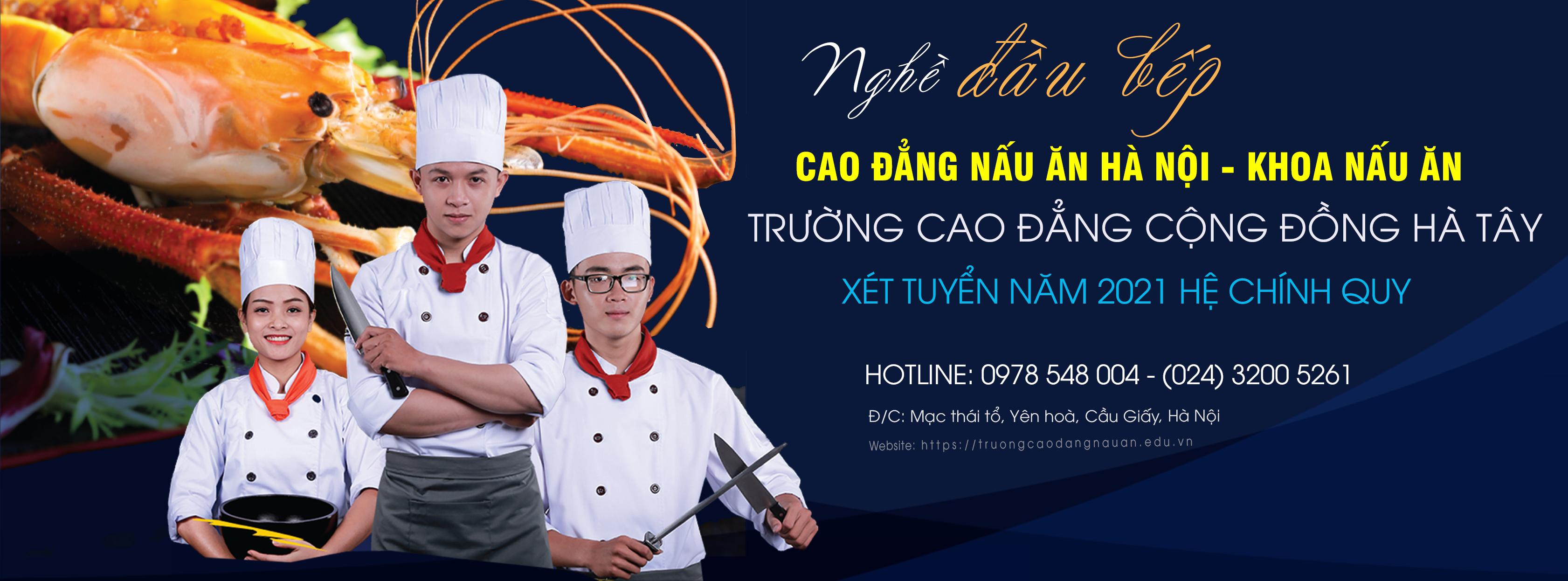 Cao đẳng nấu ăn hà nội đào tạo nấu ăn chuyên nghiệp