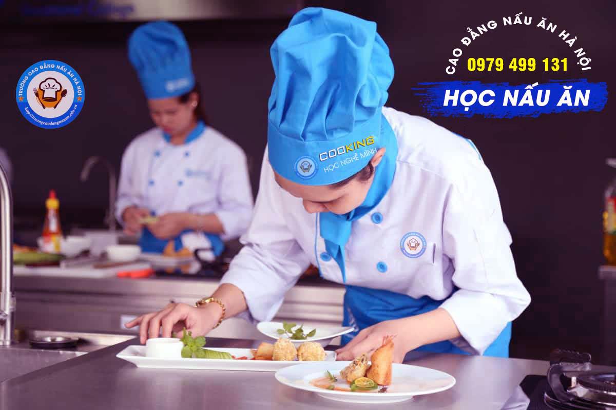 Tuyển Sinh Văn Bằng 2 Ngành Nấu Ăn Năm 2021