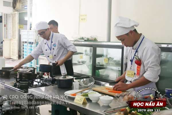 địa điểm học nấu ăn ở hà nội
