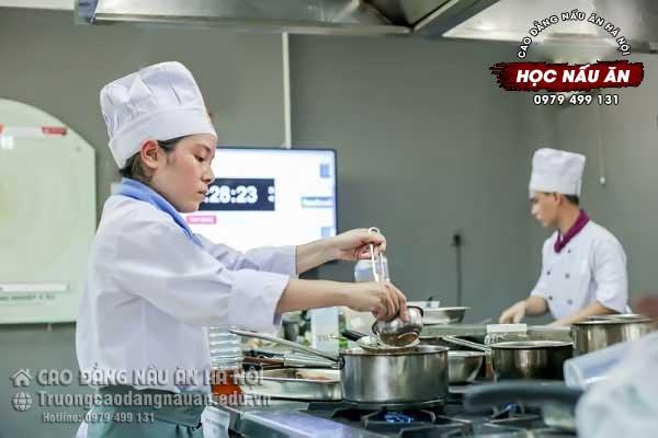 học nghề nấu ăn ở đâu tốt nhất