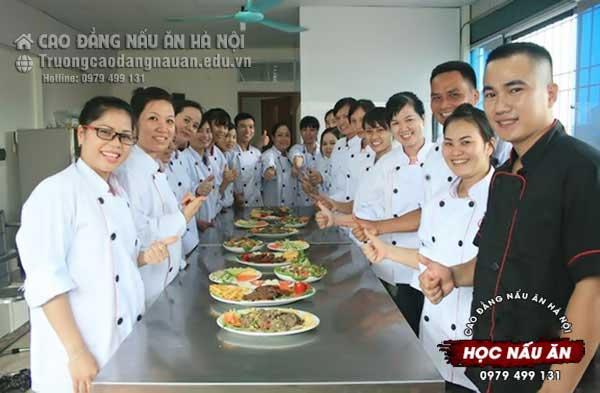 khóa học nấu ăn ở hà nội
