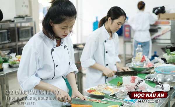 Trường Cao Đẳng Nấu Ăn Hà Nội Xét Tuyển 2021