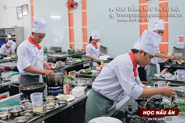 trung tâm học nấu ăn ngon